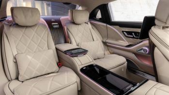 Bancos traseiros do novo Mercedes-Maybach Classe S W223