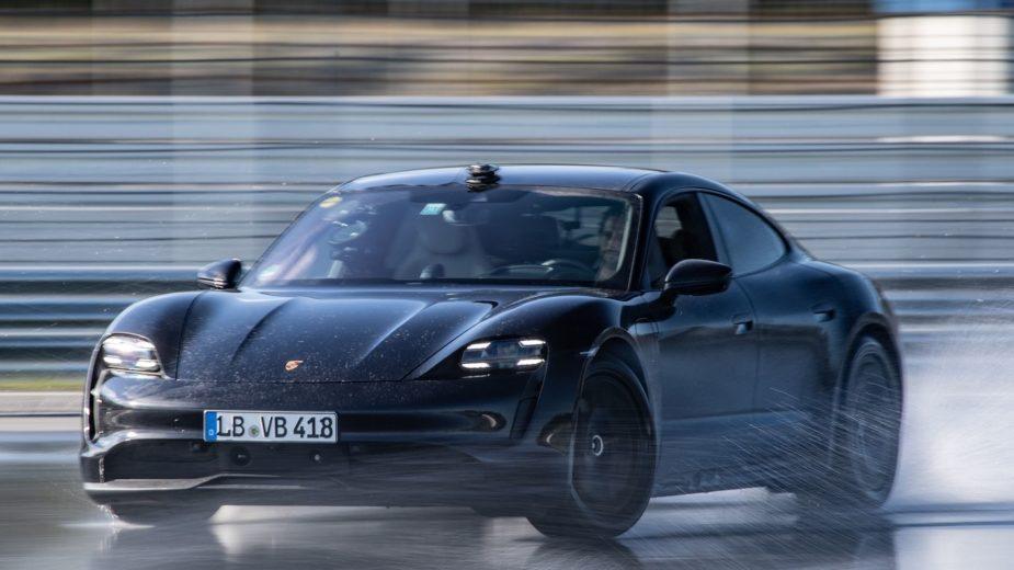 Porsche Taycan Drift Recorde