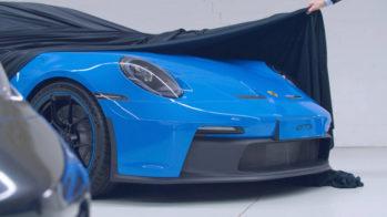 Porsche 911 GT3 2021 teaser