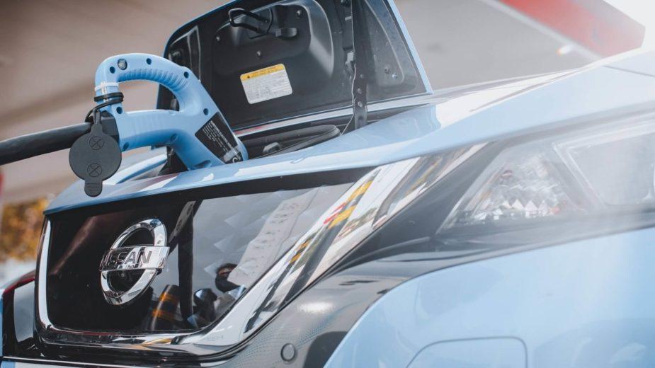 Postos de carregamento Nissan