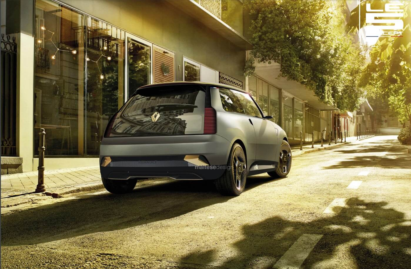 O Le 5 Concept Imagina O Regresso Do Historico Renault 5