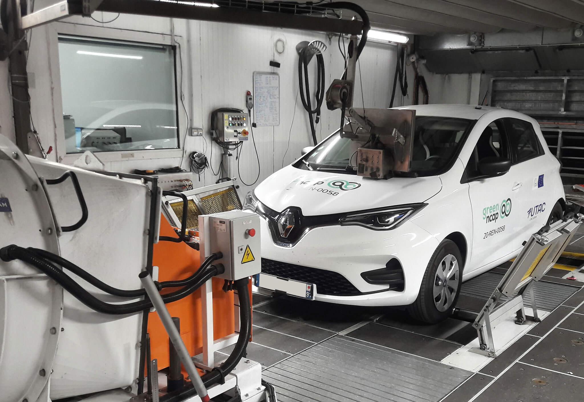 Renault Zoe Green NCAP
