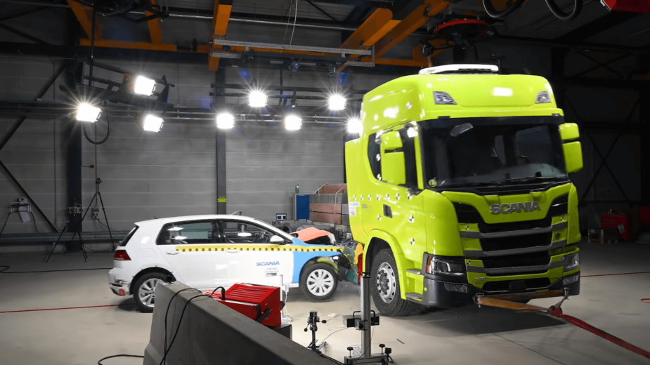 Scania crash-test