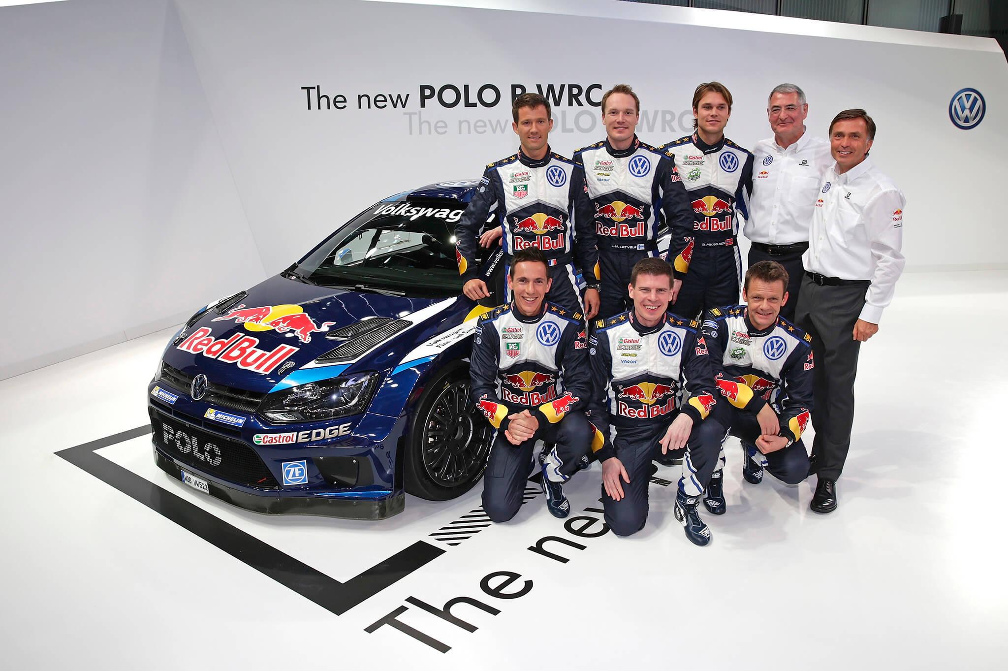 Jost Capito Volkswagen Polo R WRC