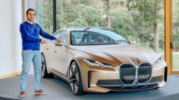 BMW Concept i4 e Guilherme Costa