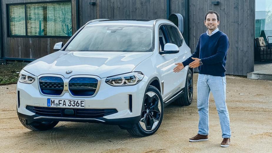 BMW iX3 em Portugal