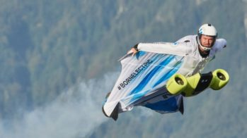 BMW wingsuit