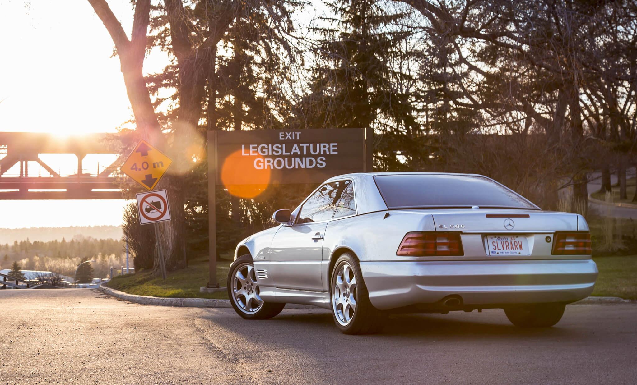 Mercedes-Benz SL 500 Silver Arrow Edition R 129