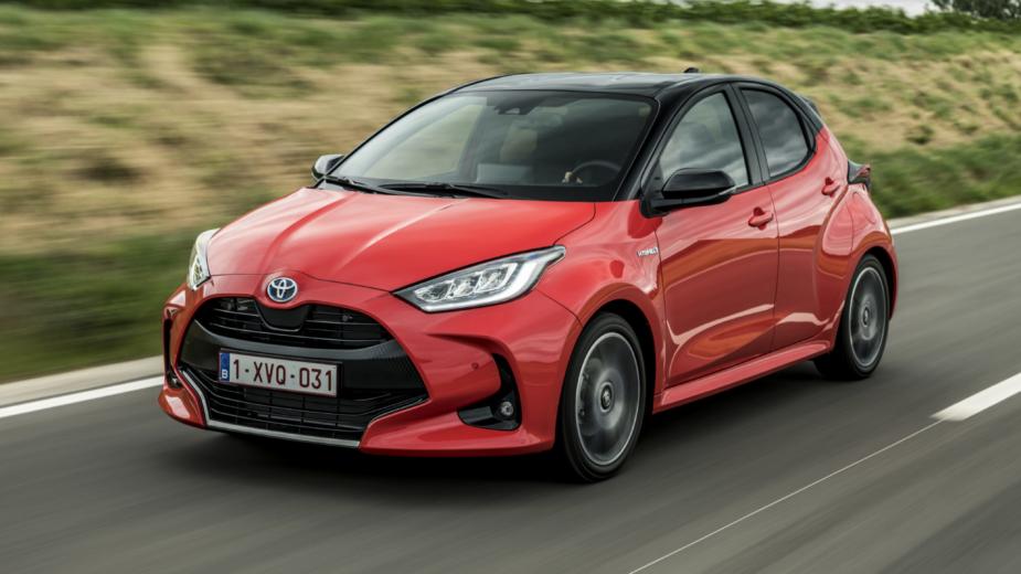 Novo Toyota Yaris frente