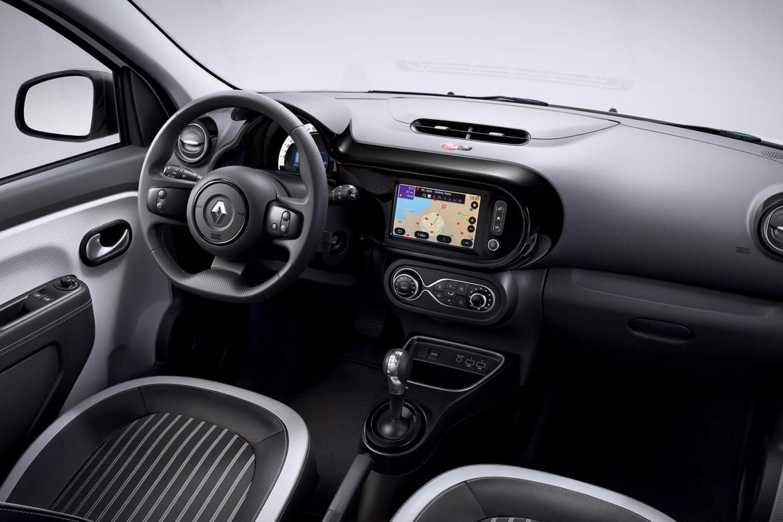 Interior do Renault Twingo Electric