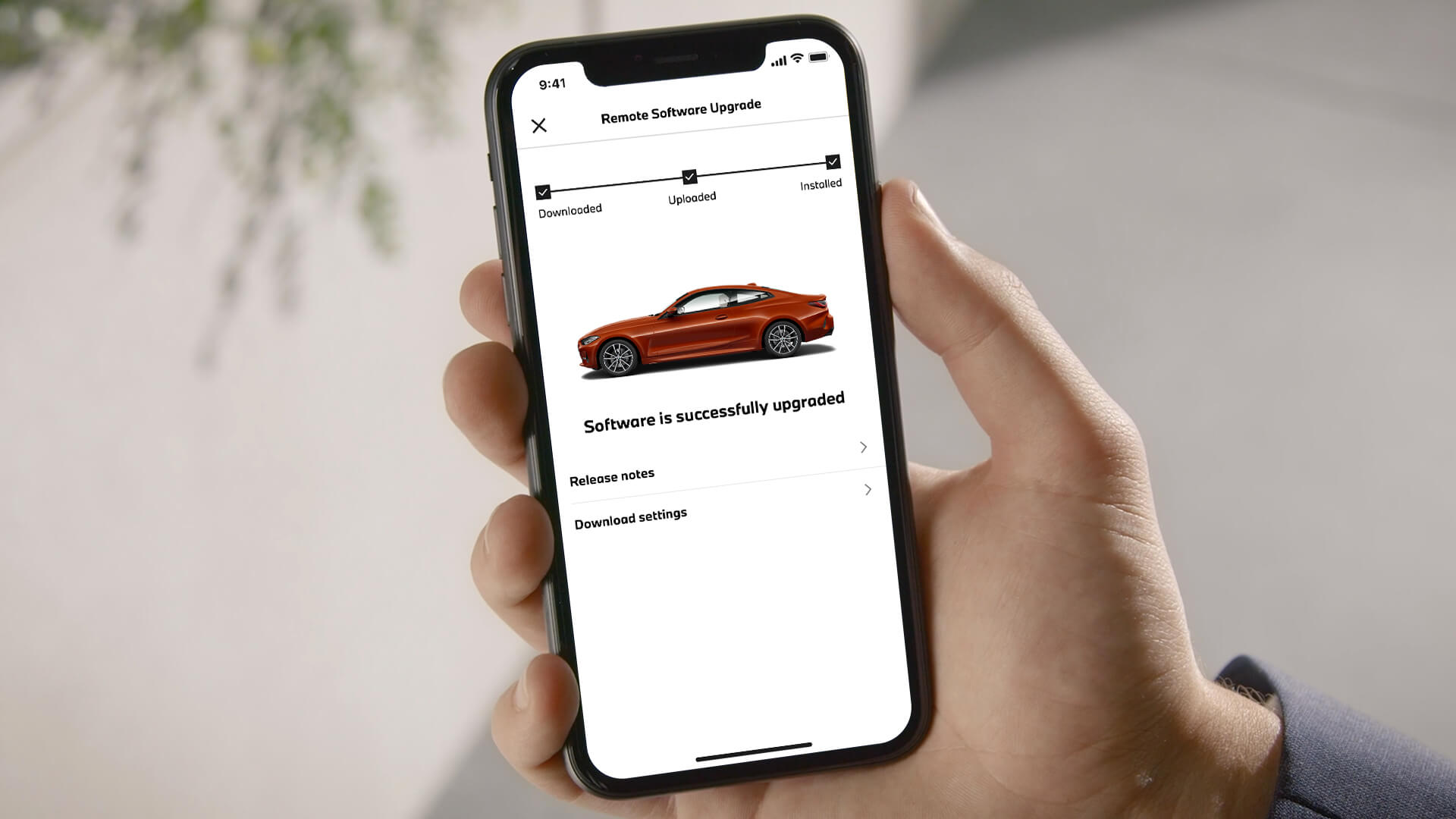 BMW Mini app
