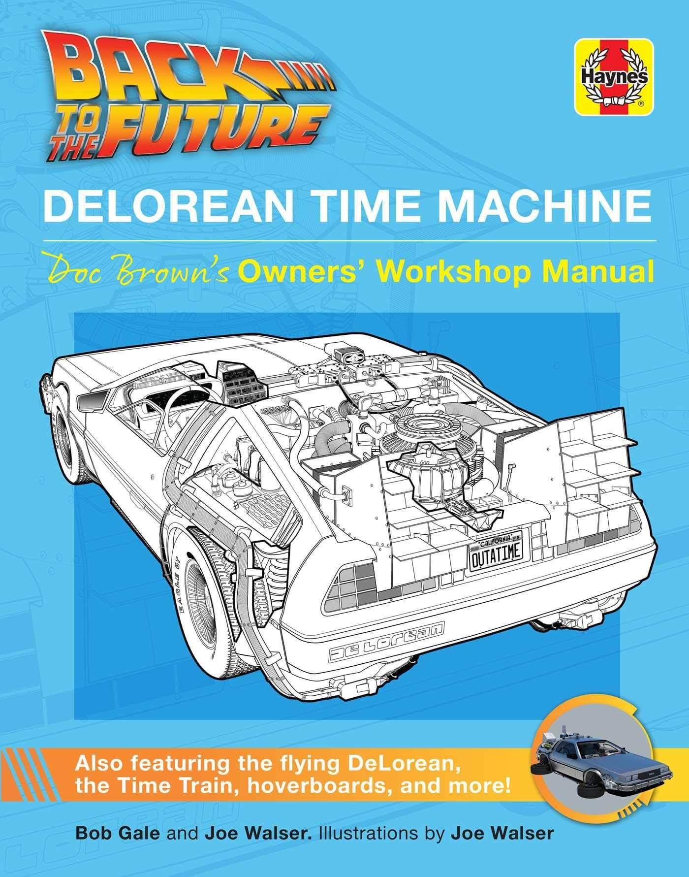 DeLorean manual Haynes
