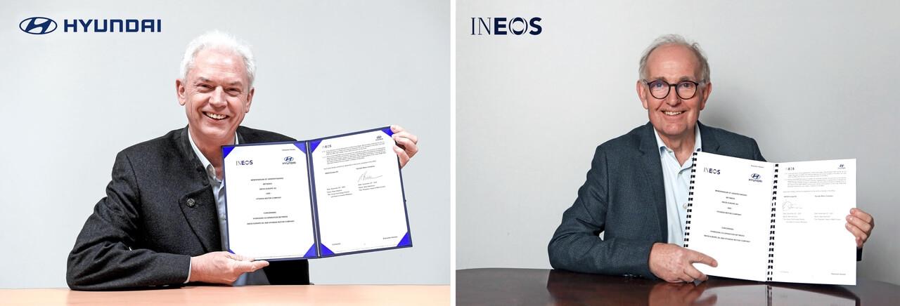 Hyundai e INEOS acordo