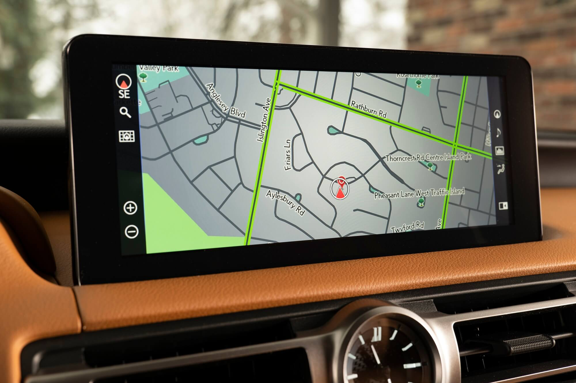Lexus sistema de navegação