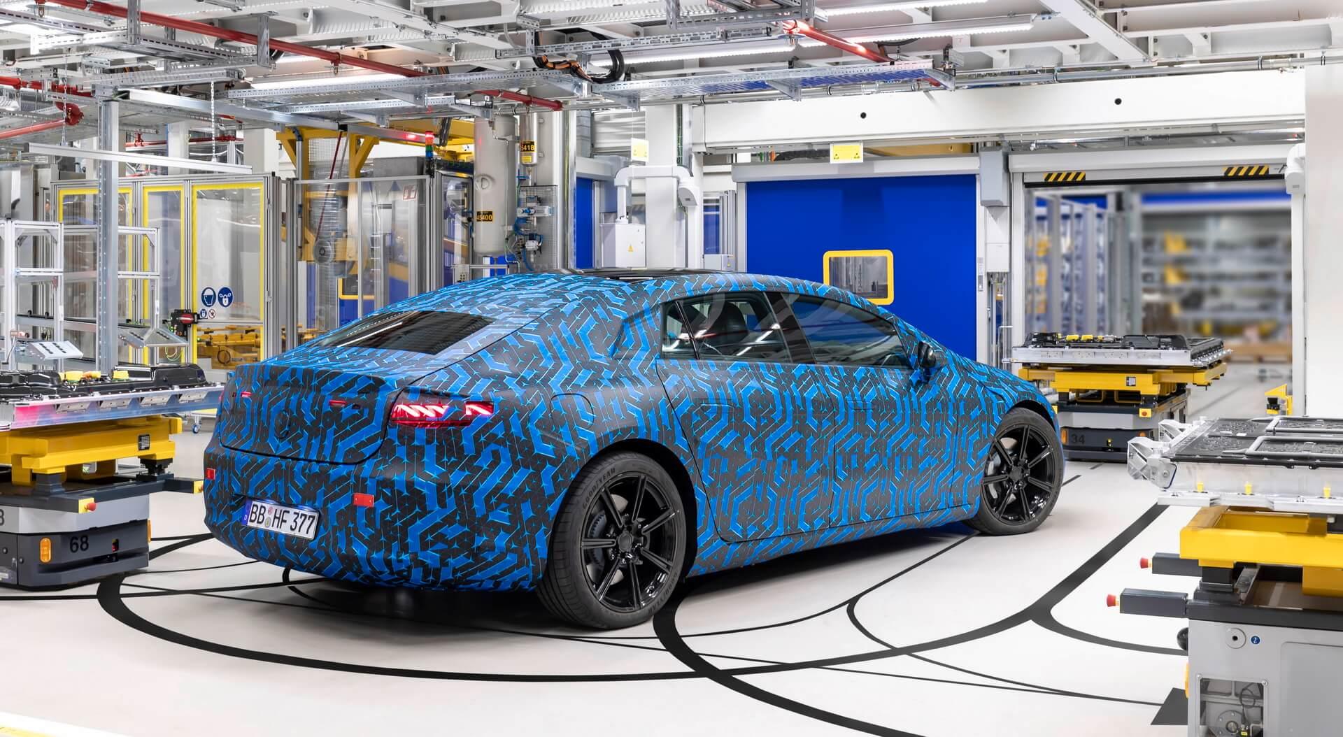 Mercedes-Benz elétricos