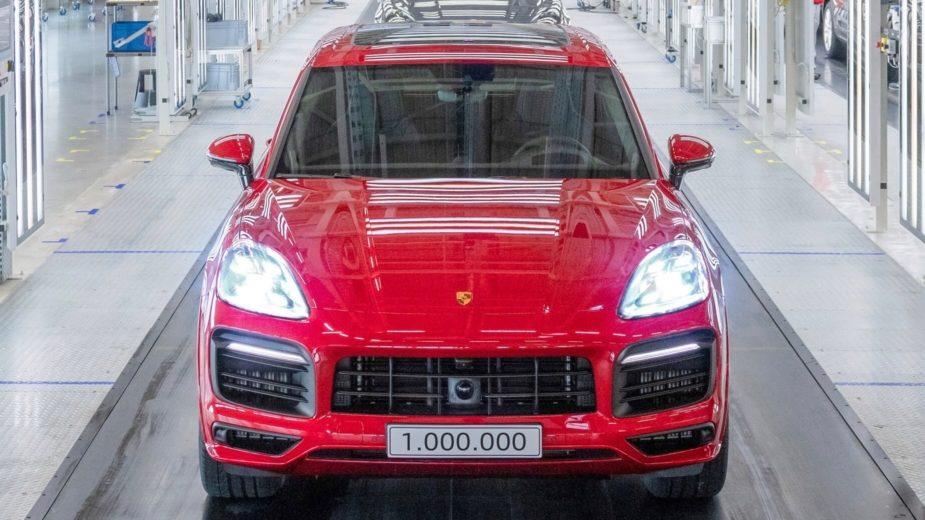 Porsche Cayenne 1 milhão