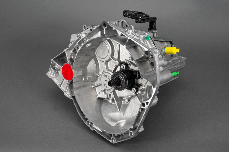 JT 4, caixa de velocidades Renault
