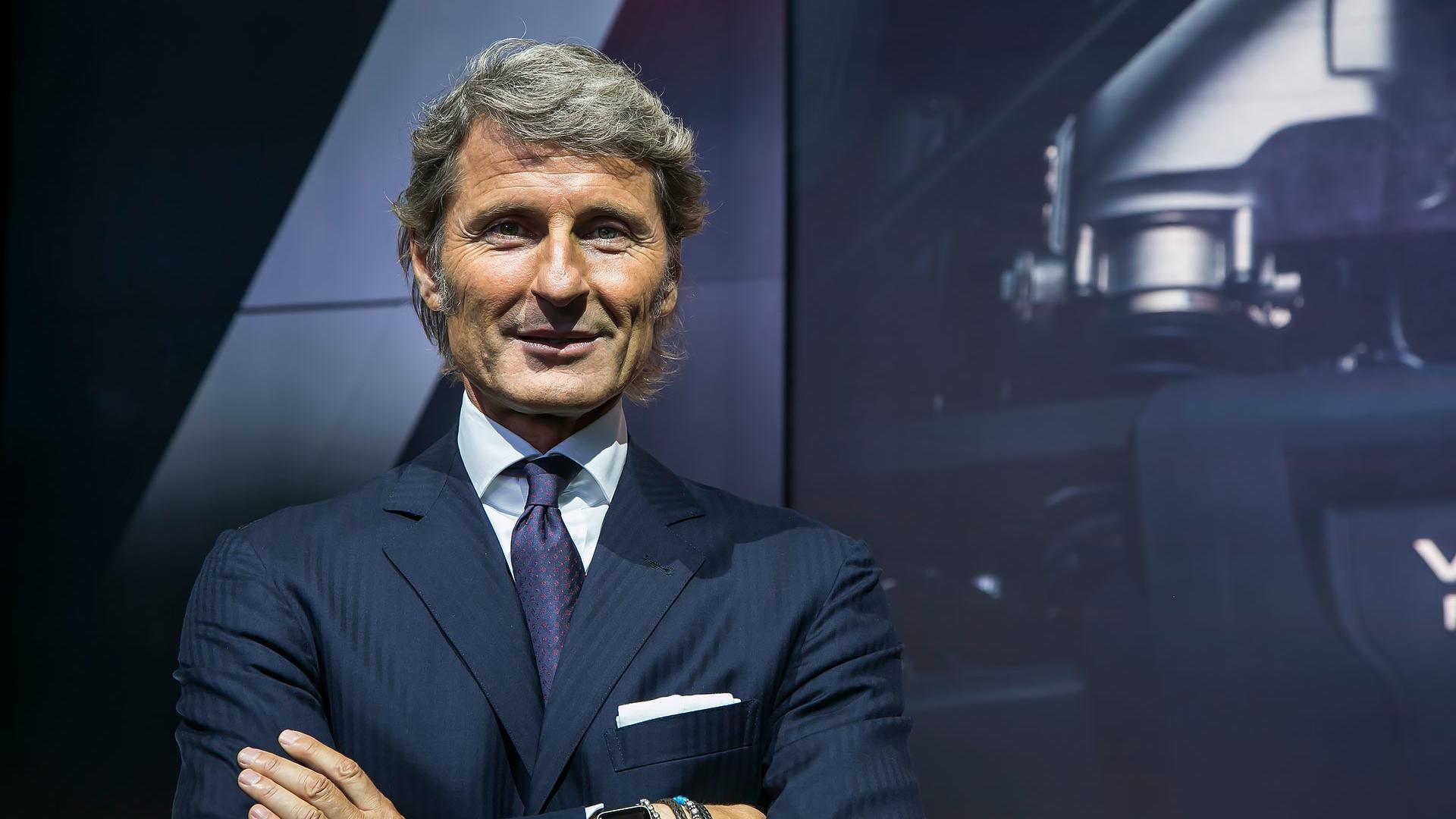 Stephan-Winkelmann CEO Bugatti e Lamborghini