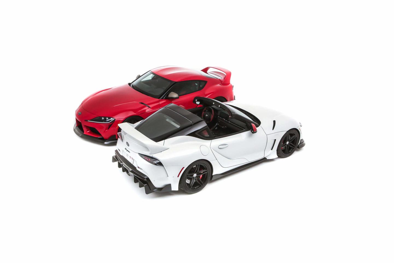 Toyota GR Supra Sport Top e GR Supra Heritage Edition