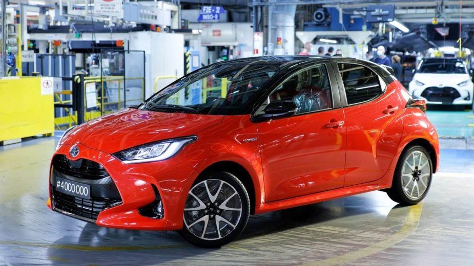 Toyota Yaris 4 milhões