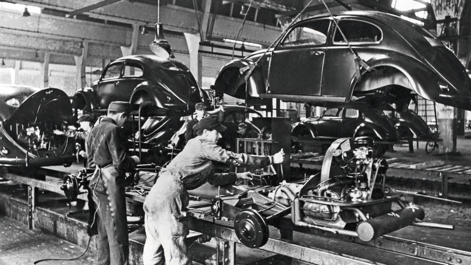 Linha de produção Wolfsburgo