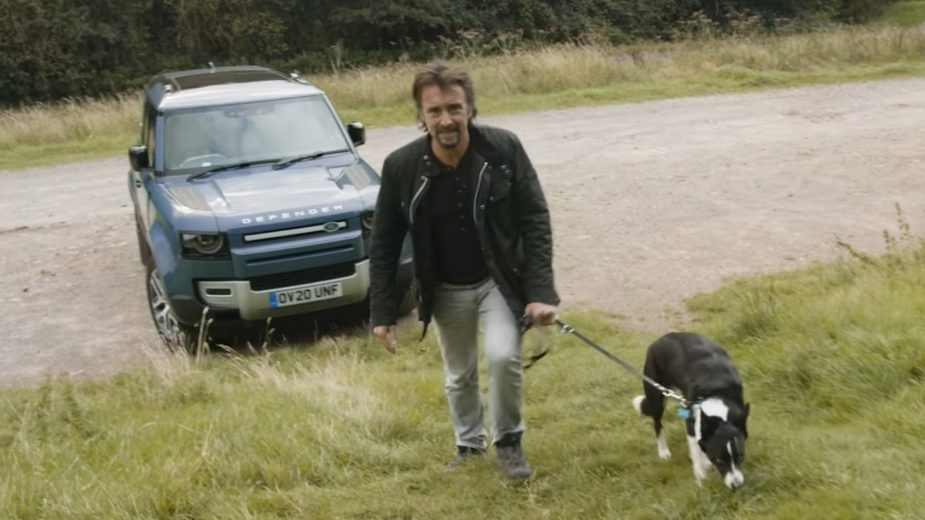 Richard Hammond Land Rover Defender