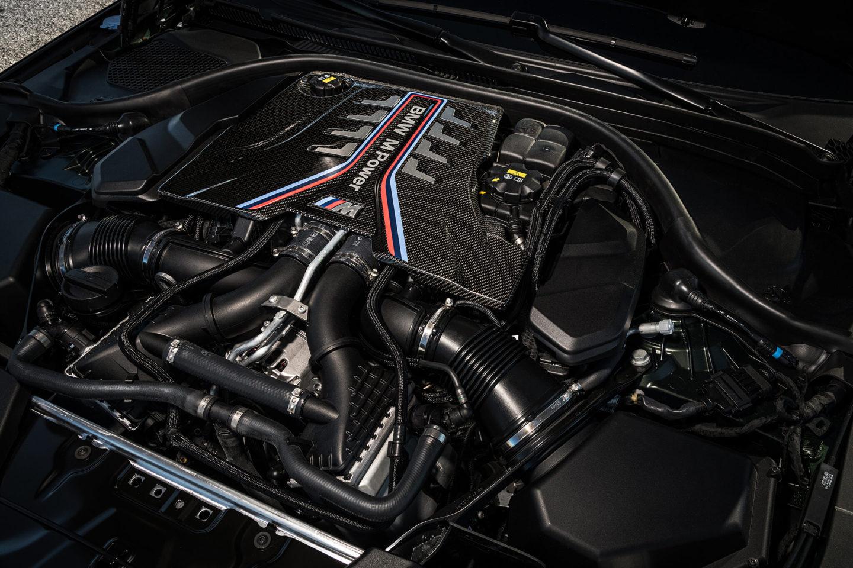 Motor V8 biturbo