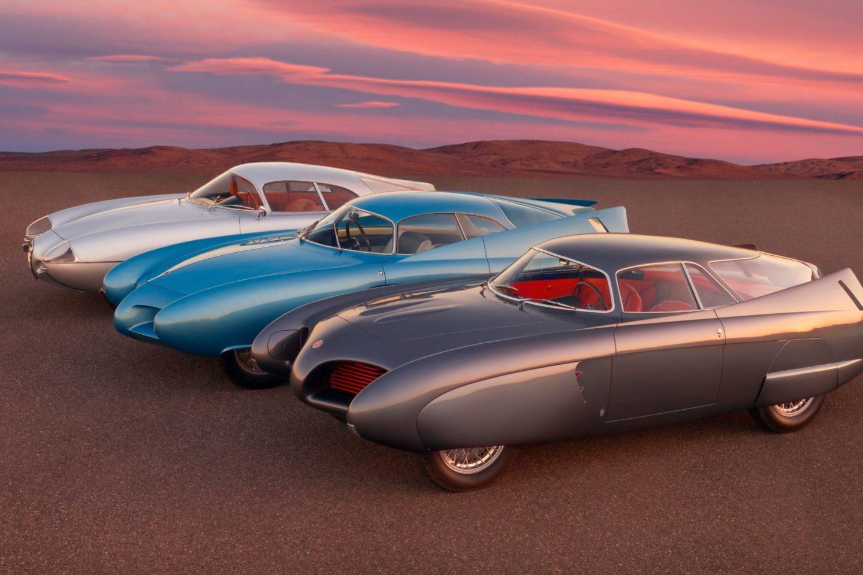 Alfa Romeo B.A.T. 5 (1953), B.A.T. 7 (1954) e B.A.T. 9 (1955)