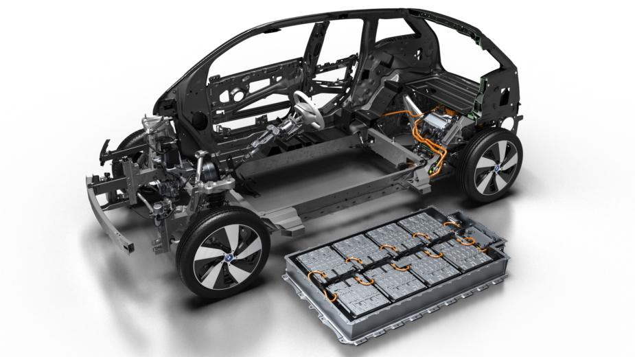 BMW i3 baterias