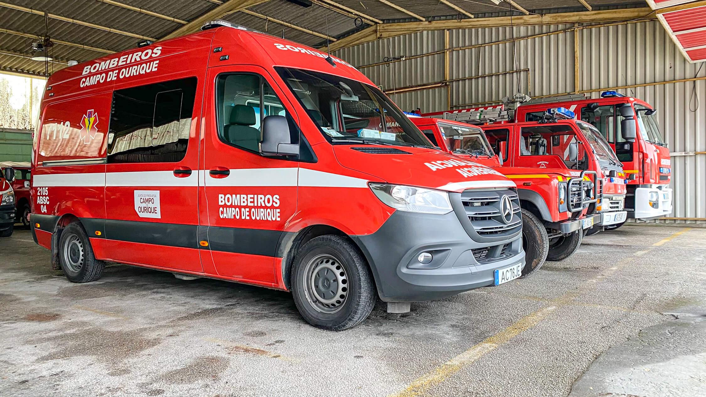 Veículos de bombeiros