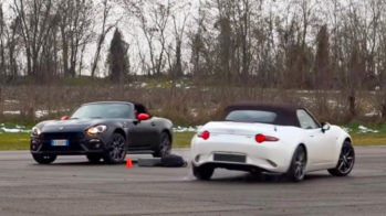 Mazda MX-5 vs Abarth 124 Spider