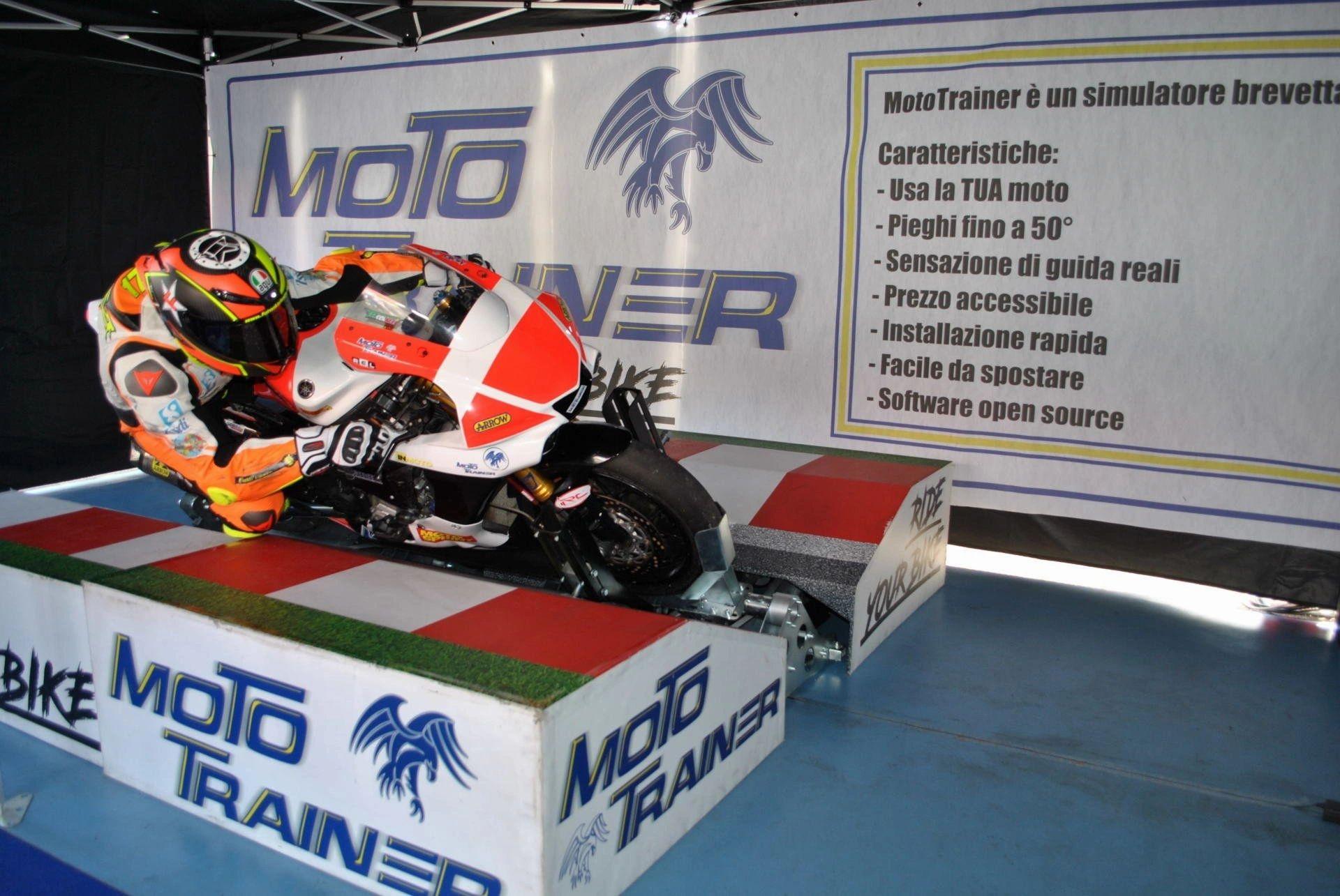 Moto Trainer simulador