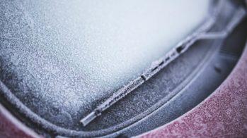 Gelo no para-brisas