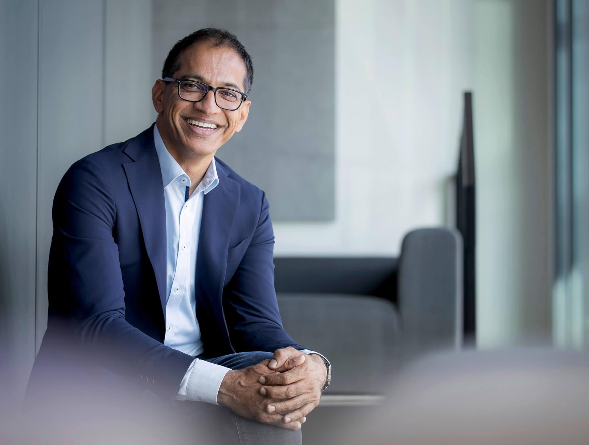 Sajjad Khan, CTO da Mercedes-Benz