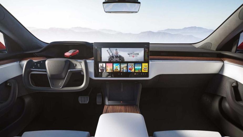 Interior Tesla Model S e Model X