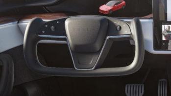 Tesla Model S volante