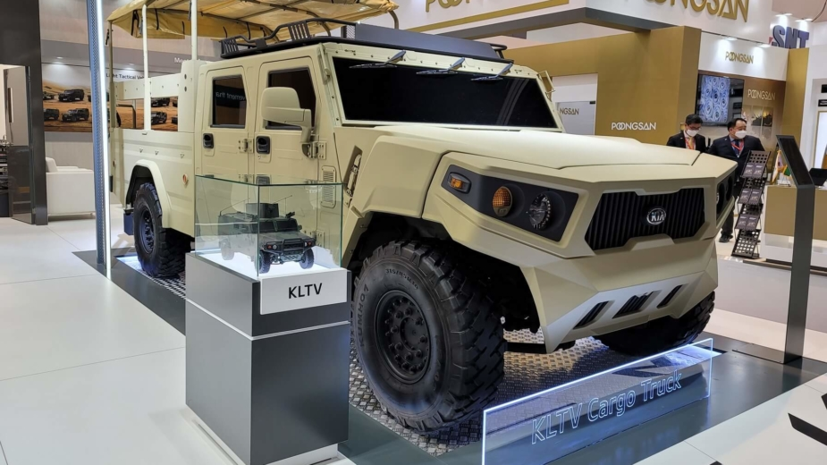 Kia Light Tactical Cargo Truck