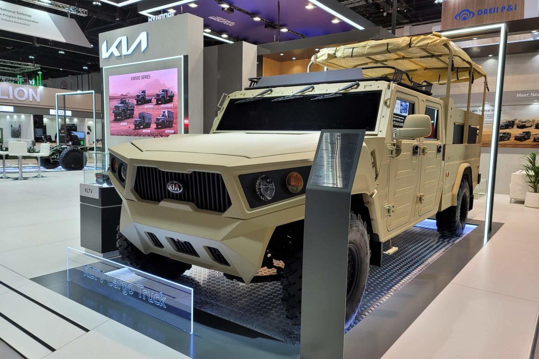 Kia Light Tactical Cargo Truck