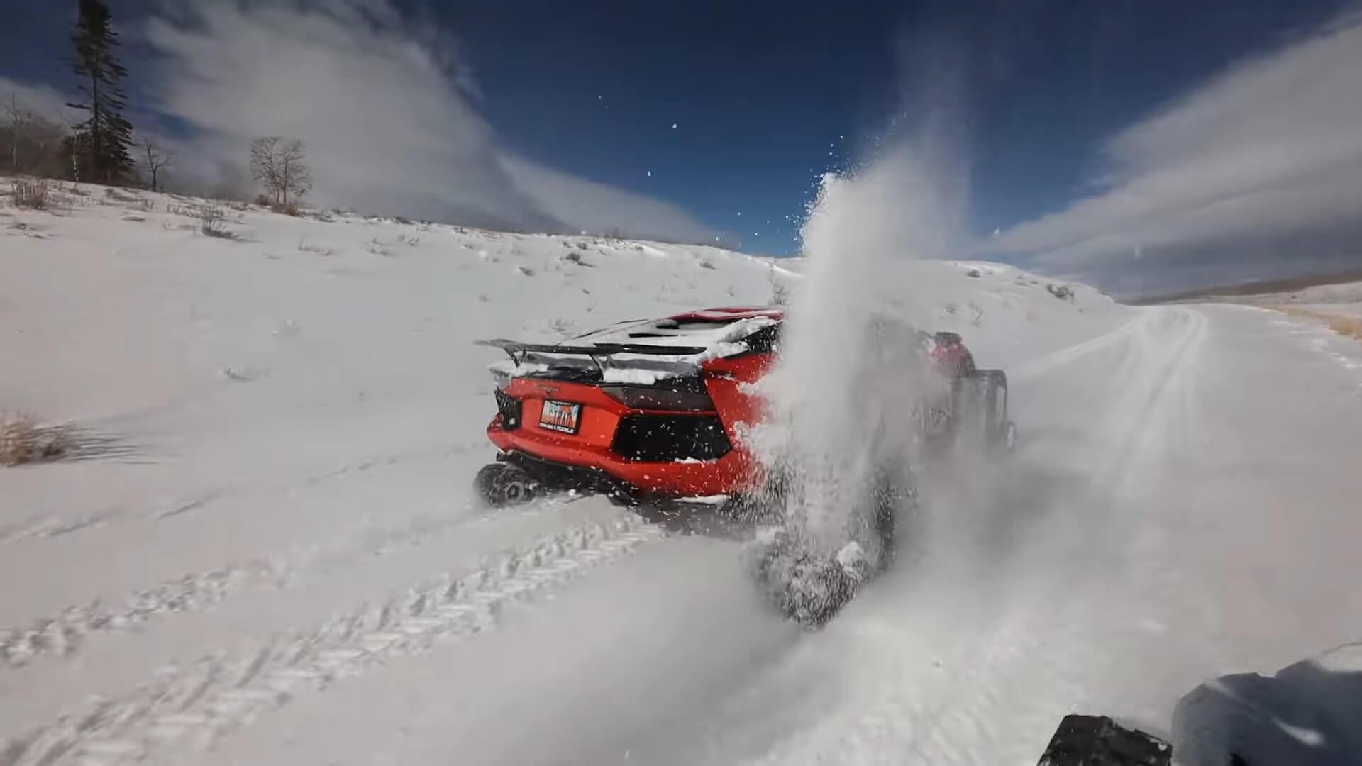 Lamborghini Aventador nev