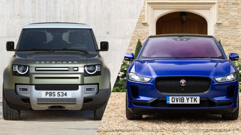 Land Rover Defender Jaguar I-Pace