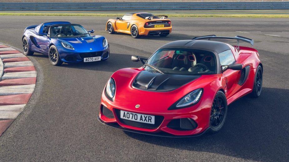 Lotus Exige e Elise Final Edition
