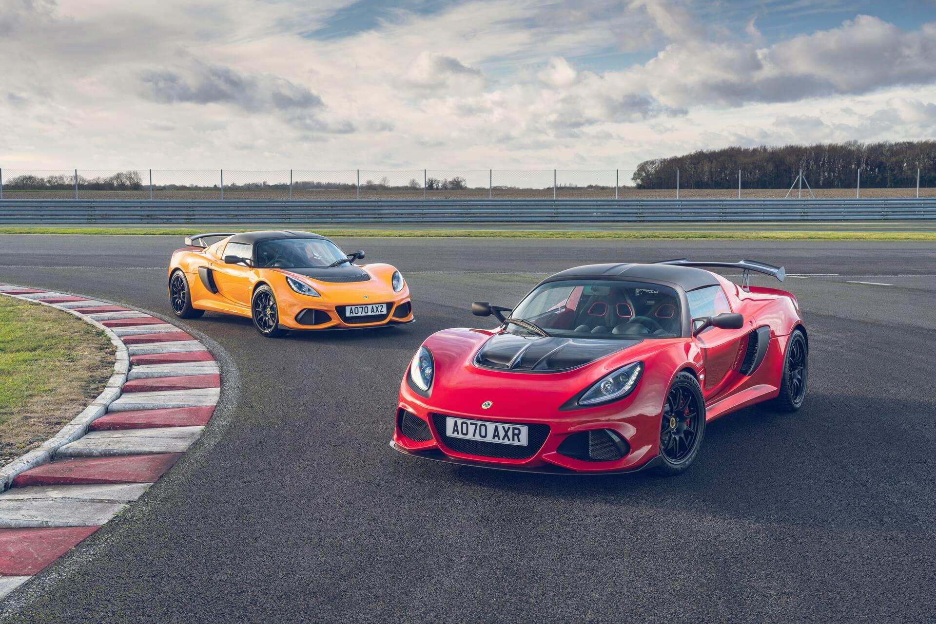 Lotus Exige Final Edition