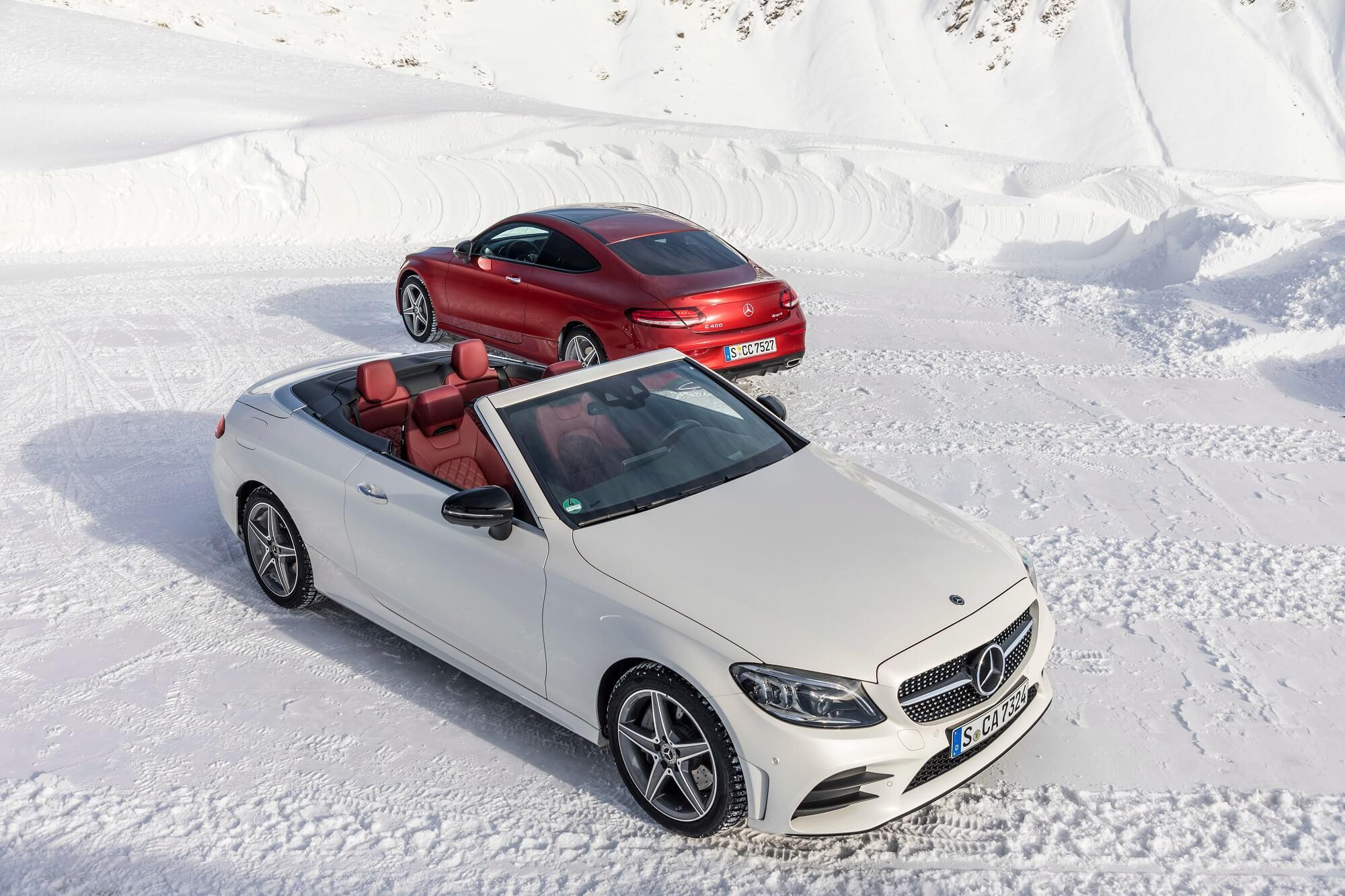 Mercedes-Benz Classe C Coupé e Cabrio