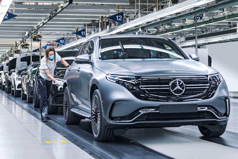 Mercedes-Benz EQC, Bremen
