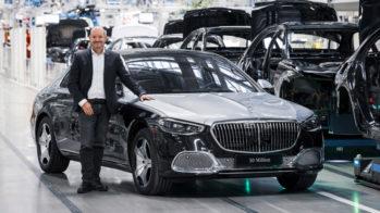Jörg Burzer, Mercedes-Maybach Classe S na Factory 56