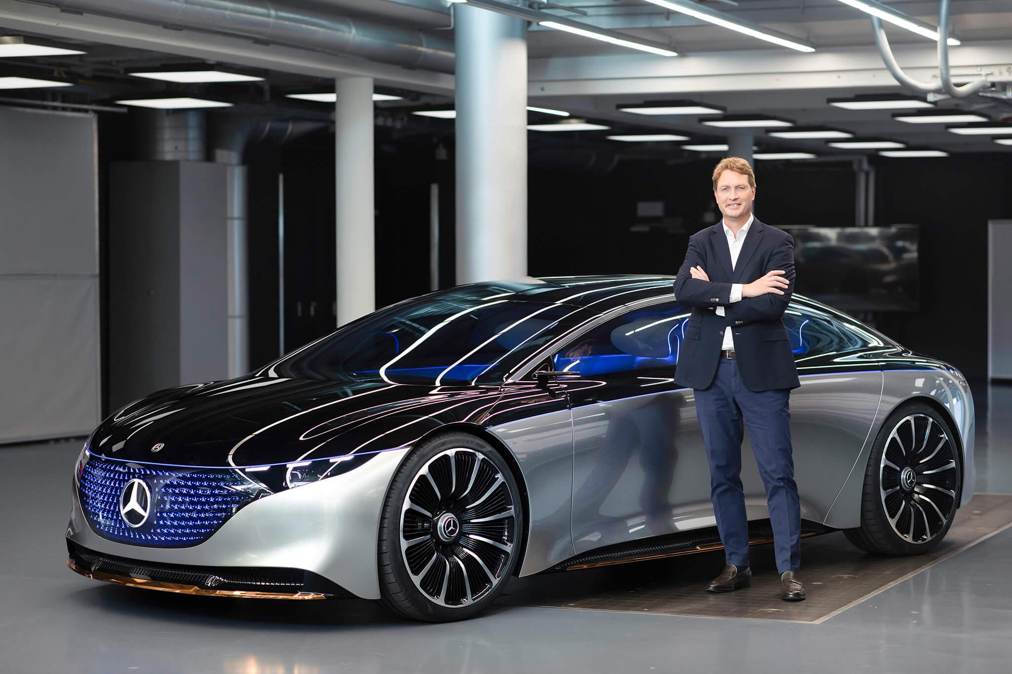Ola Kaellenius CEO Mercedes-Benz