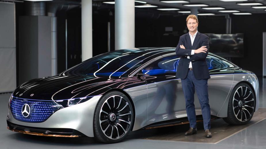 Ola Källenius CEO Mercedes-Benz