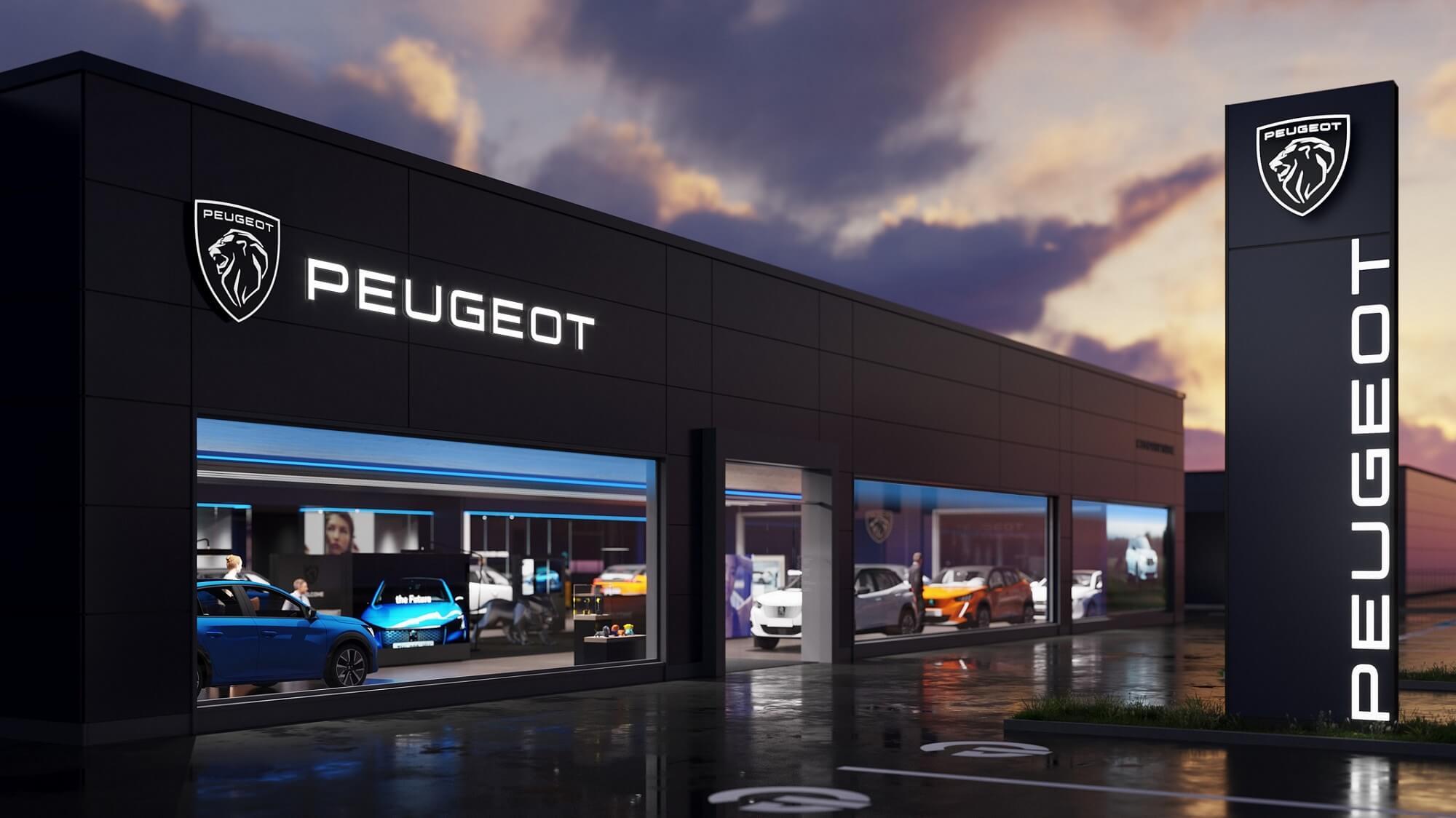 Peugeot novo logótipo