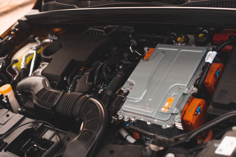 Motorização híbrida plug-in