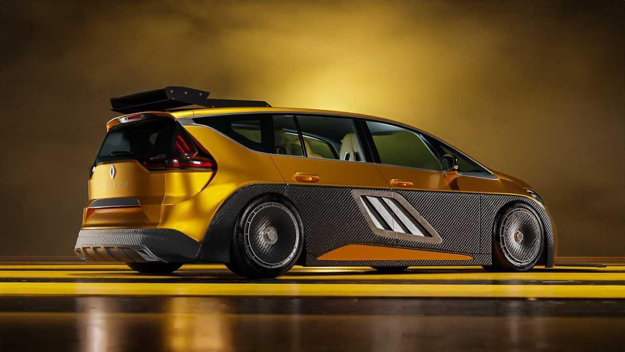 Renault Espace F1 2021